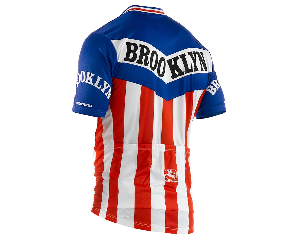 Giordana Team Brooklyn Vero Pro Fit Cycling Jersey (Traditional) (2XL)