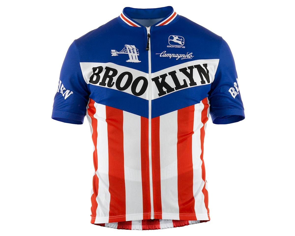 Giordana Team Brooklyn Vero Pro Fit Cycling Jersey (Traditional) (3XL)
