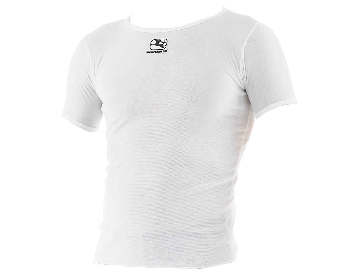 Giordana Dri-Release Short Sleeve Base Layer (White) (XL)