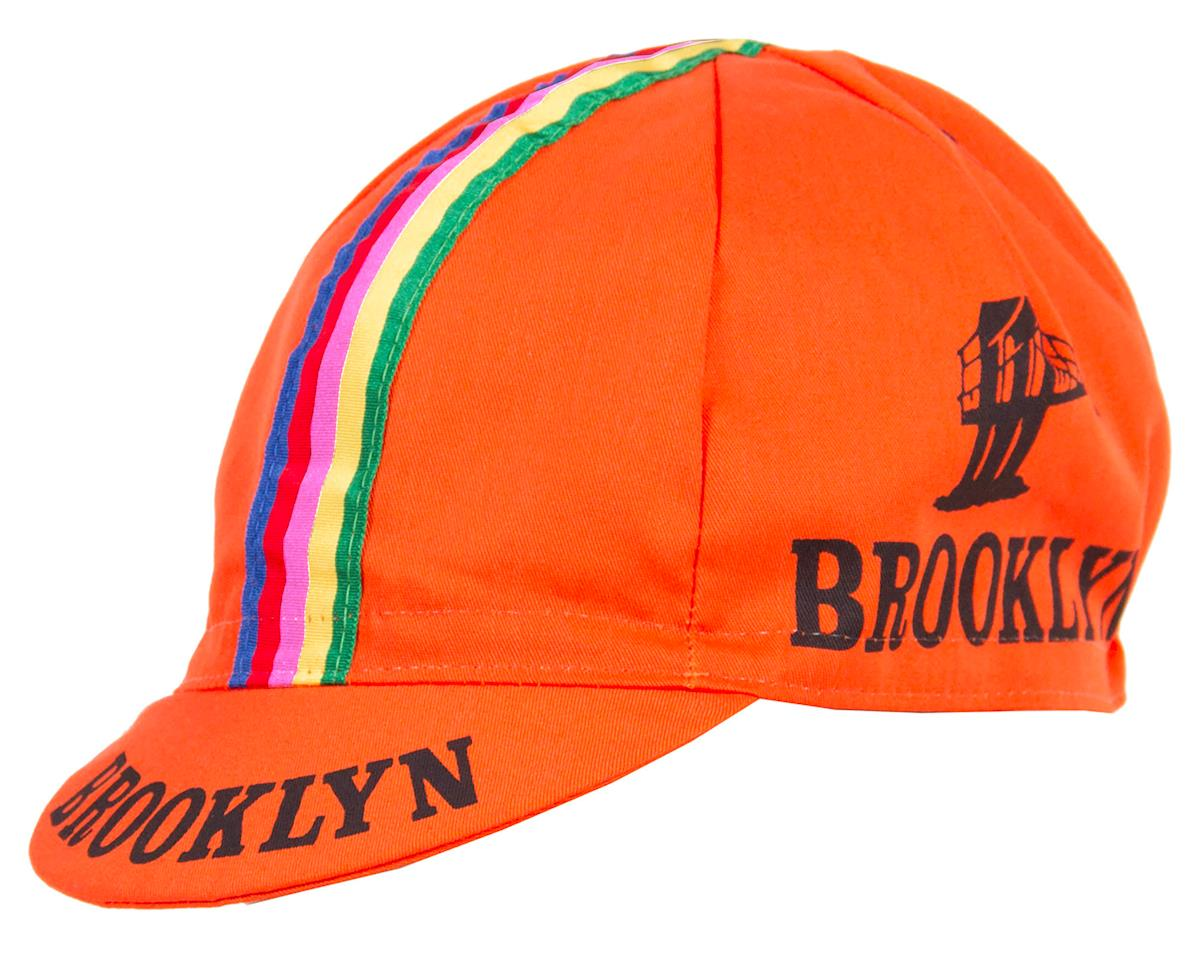 Giordana Team Brooklyn Cycling Cap with Tape (Orange)
