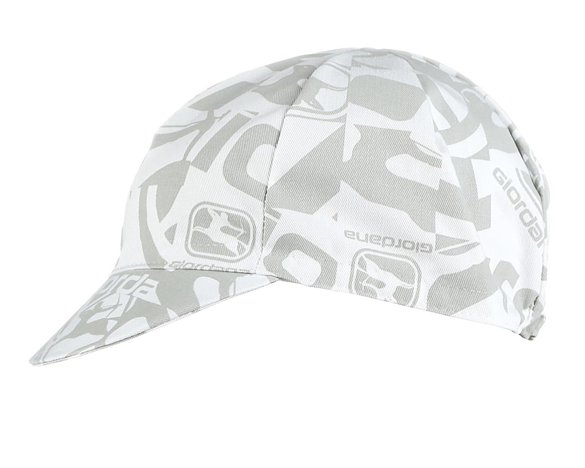Giordana Camo Cotton Cycling Cap (White)