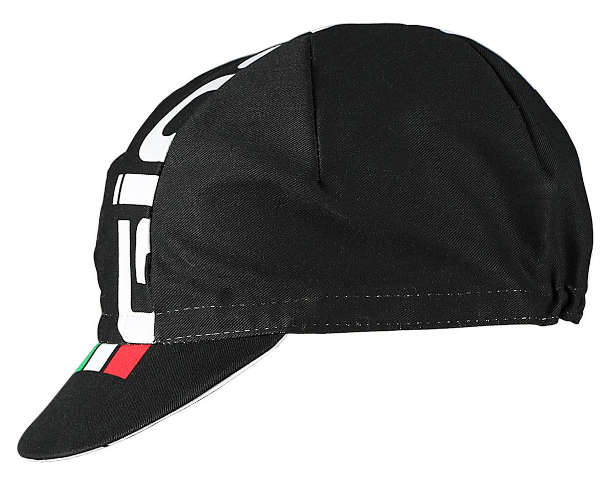 Giordana Logo Cotton Cycling Cap (Black/White/Italian)