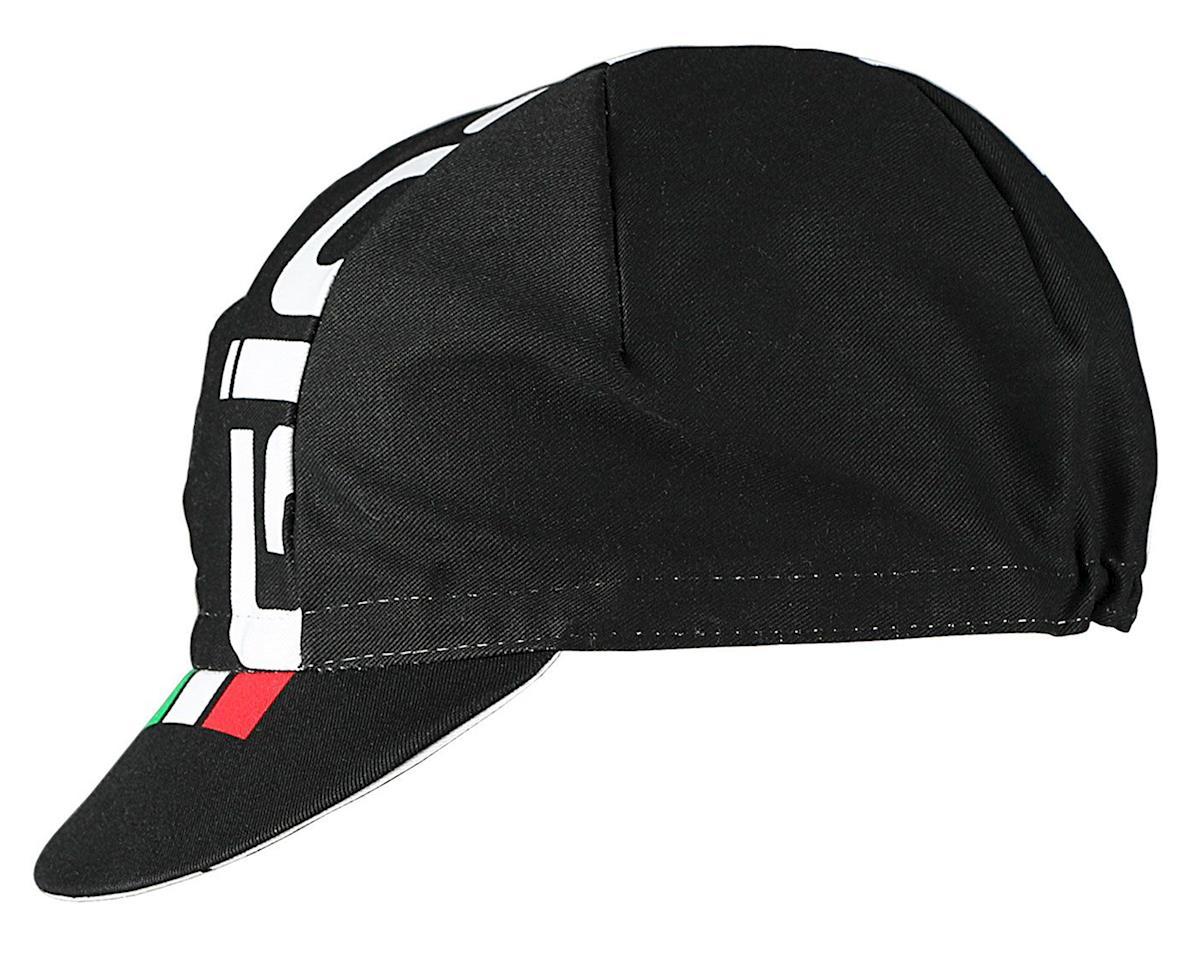 Giordana Logo Cotton Cycling Cap (Black/White/Italian)