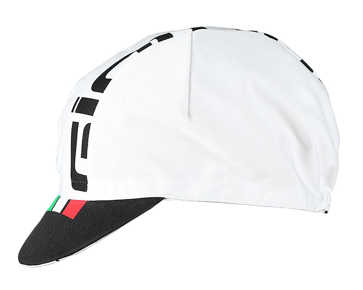 Giordana Logo Cotton Cap (White/Black/Italian)