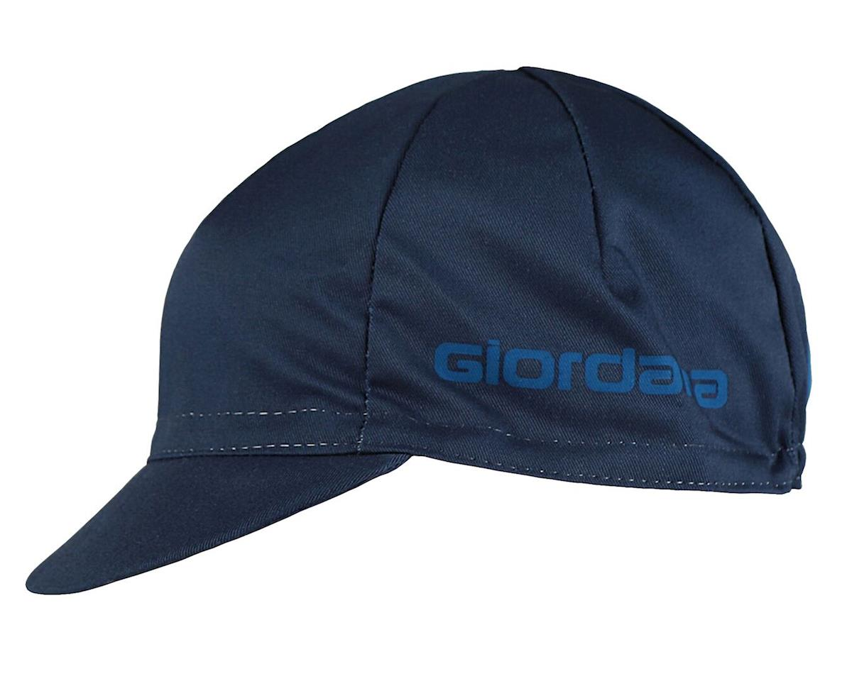 Giordana Solid Cotton Cycling Cap (Navy)