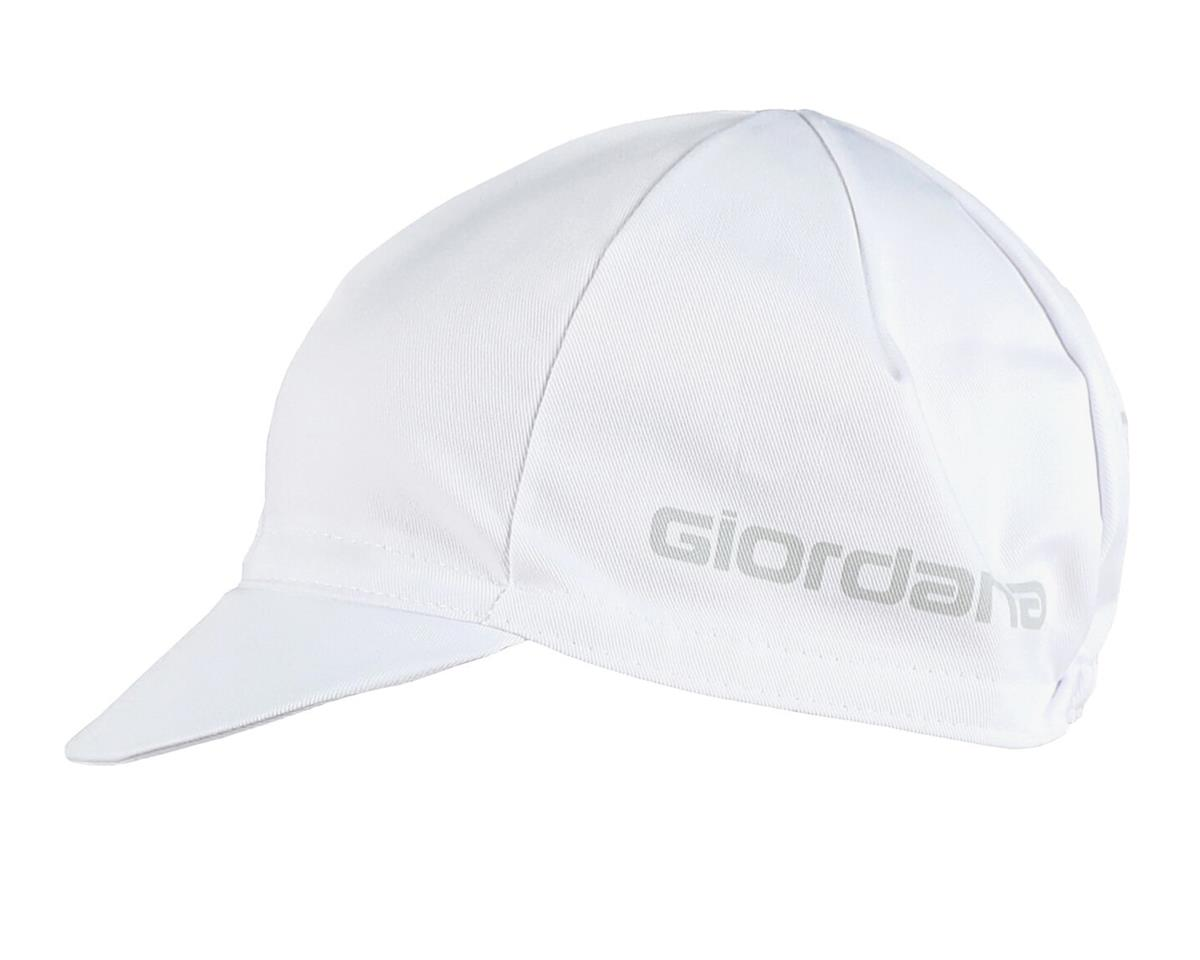 Giordana Solid Cotton Cycling Cap (White)