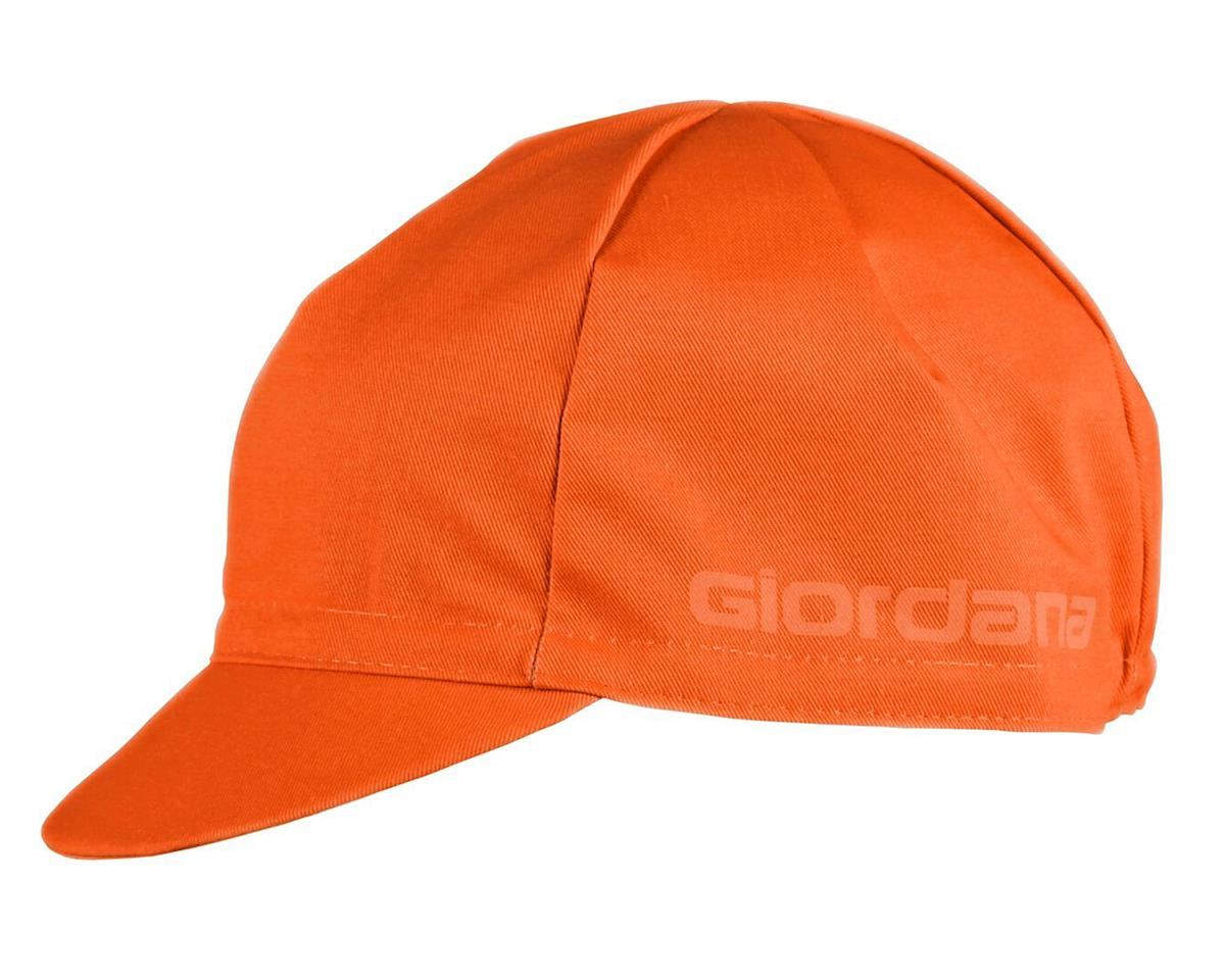 Giordana Solid Cotton Cycling Cap (Orange)