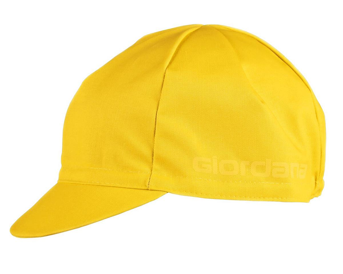 Giordana Solid Cotton Cycling Cap (Yellow)