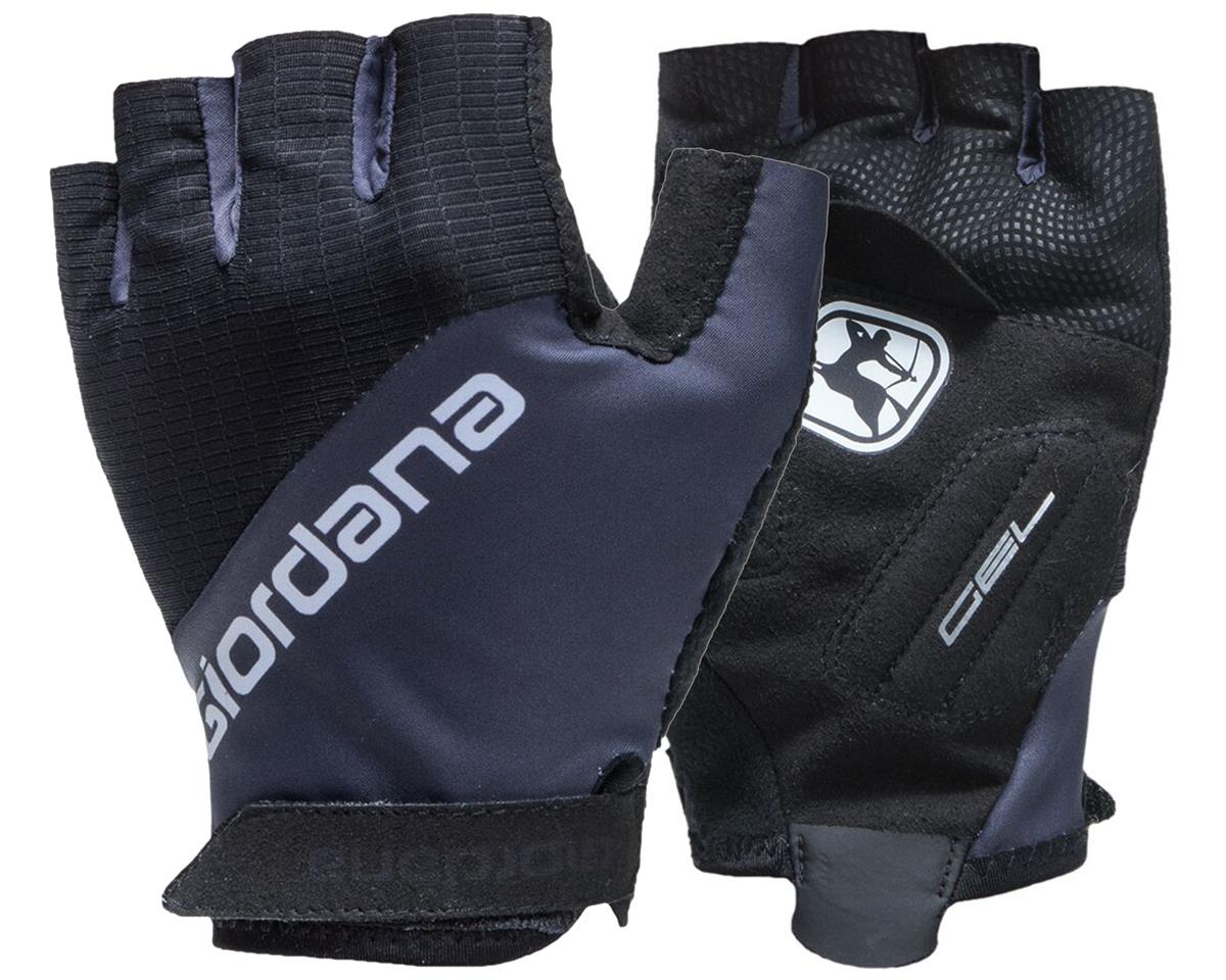 Giordana Summer gloves Versa Gel (Black/Titanium) (L)