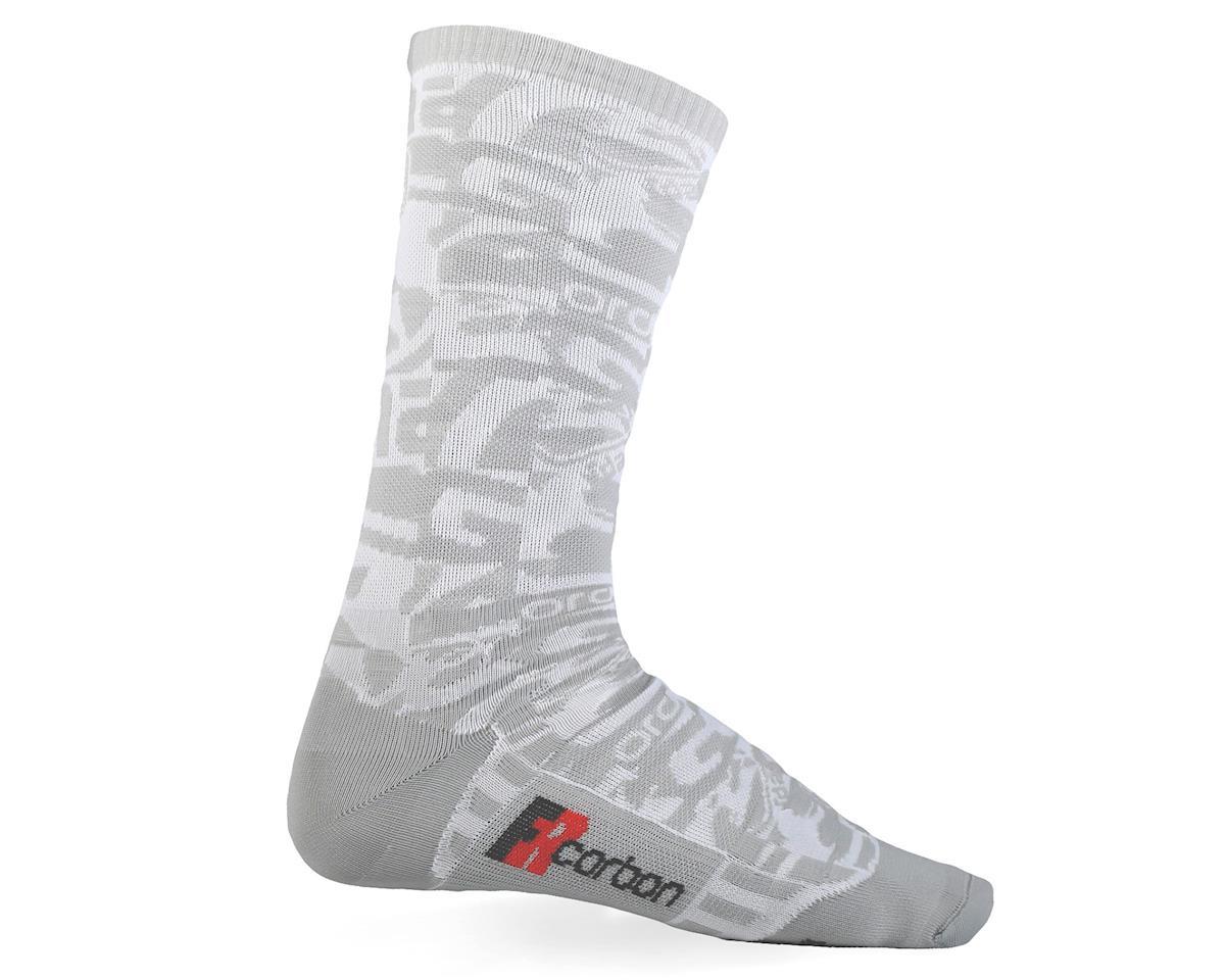 Giordana FR-C Tall Sock Camo (White/Grey) (S)