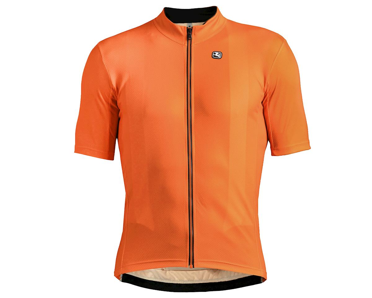 Giordana Fusion Short Sleeve Jersey (Orange) (L)