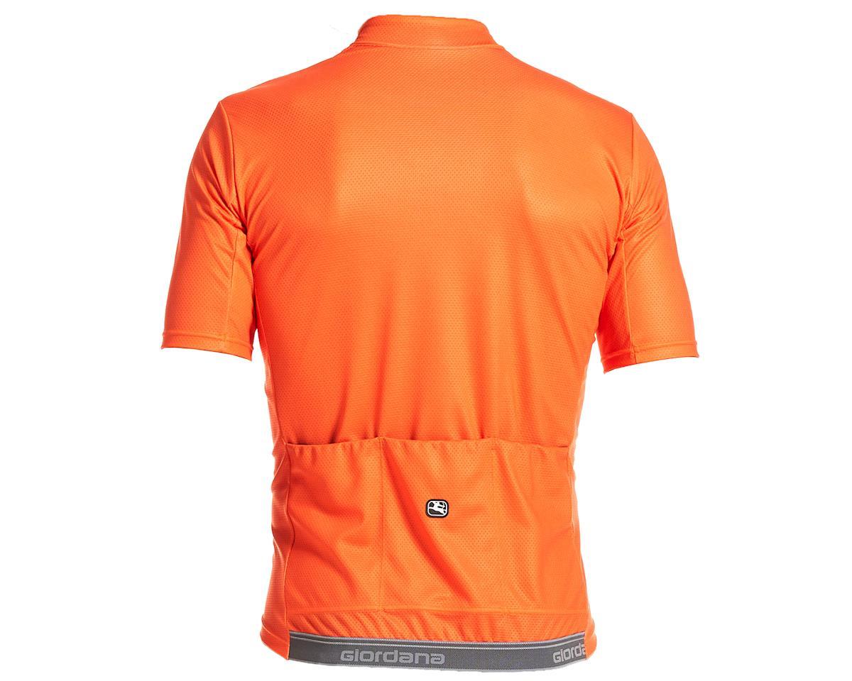 Giordana Fusion Short Sleeve Jersey (Orange) (L)
