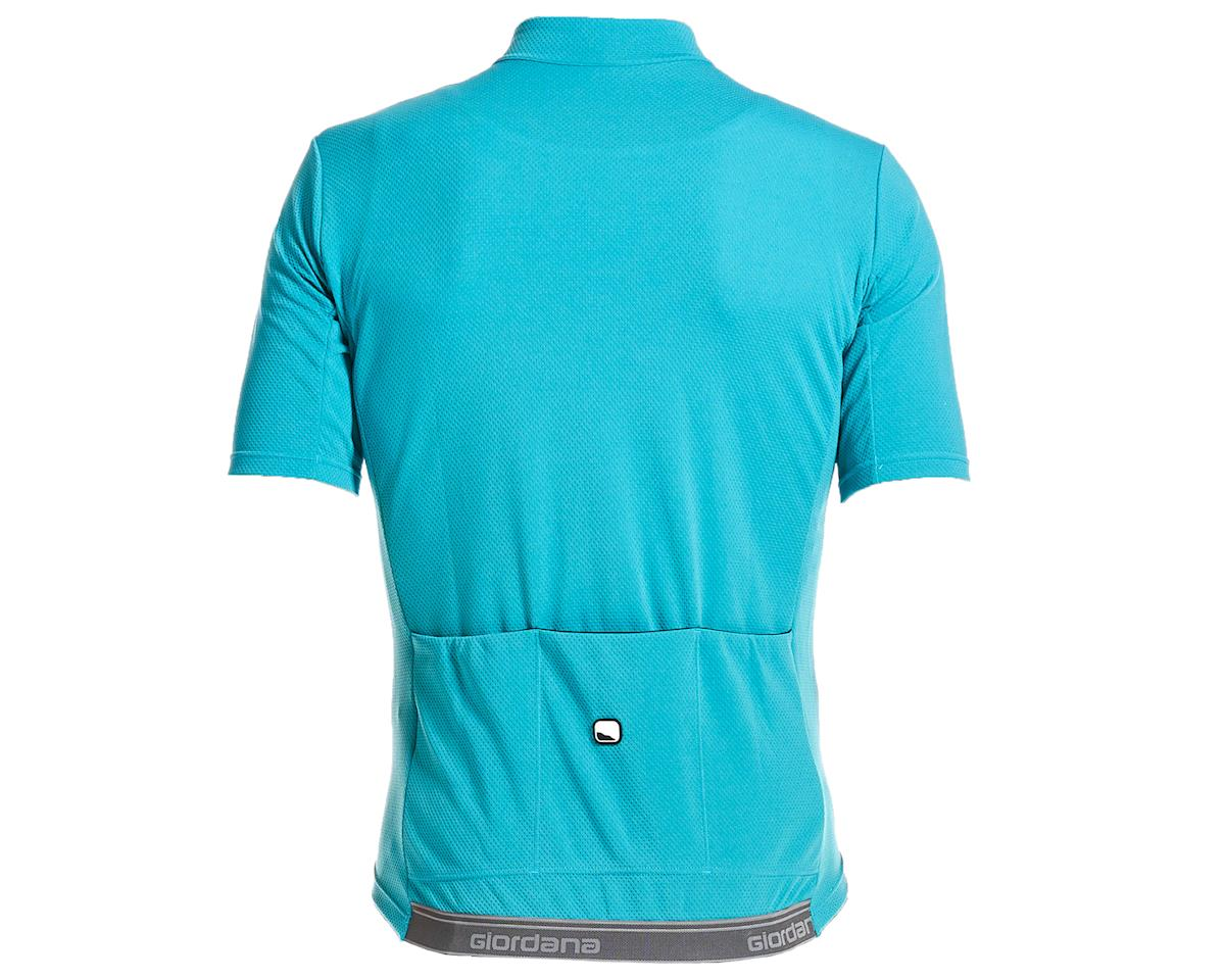 Image 2 for Giordana Fusion Short Sleeve Jersey (Teal Blue) (M)
