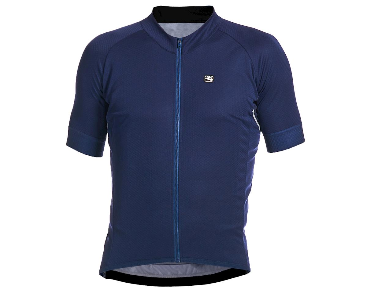 Giordana SilverLine Short Sleeve Jersey (Navy) (M)
