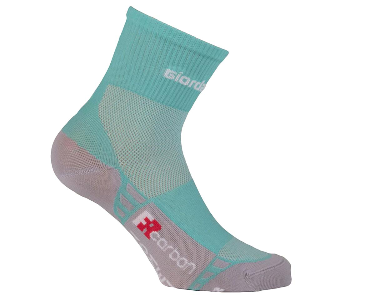Giordana FR-C Women's Mid Cuff Sock (Mint/White) (M)