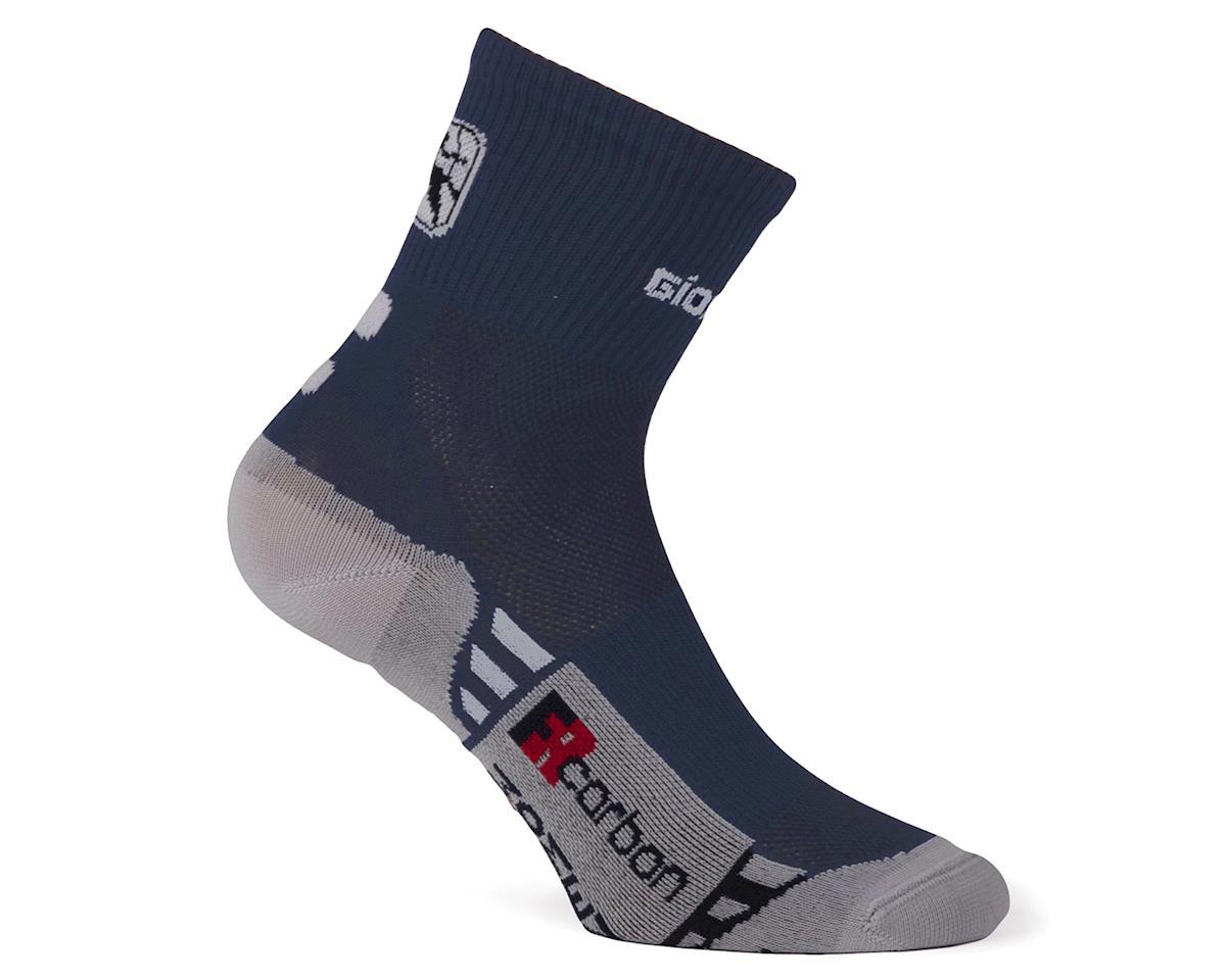 Giordana FR-C Women's Mid Cuff Sock (Navy/White) (M)