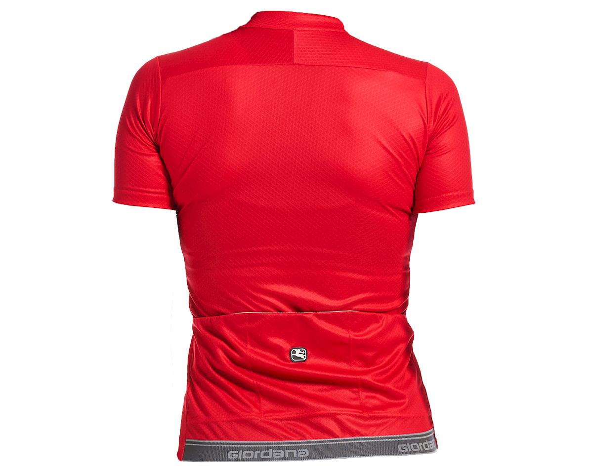Image 2 for Giordana Women's Fusion Short Sleeve Jersey (Watermelon Red) (M)