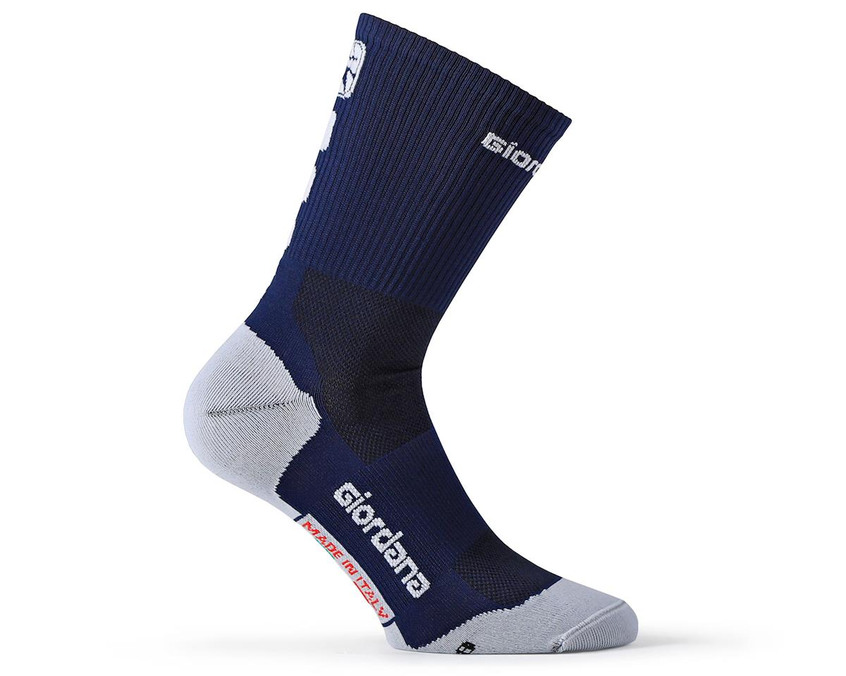 Giordana FR-C Sock Tall Cuff (Midnight Blue) (L)