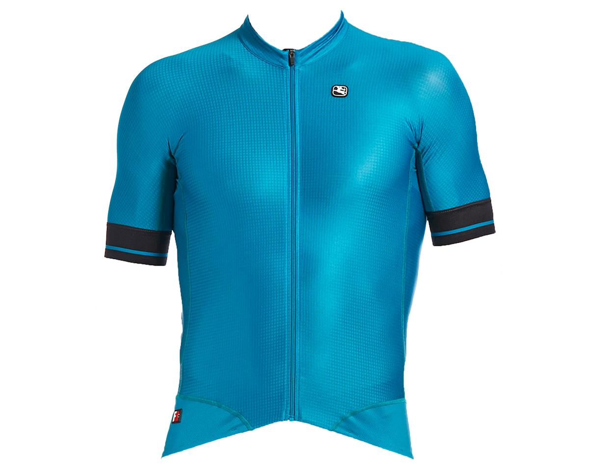 Giordana FR-C Pro Short Sleeve Jersey (Deep Ocean/Black accents) (M)