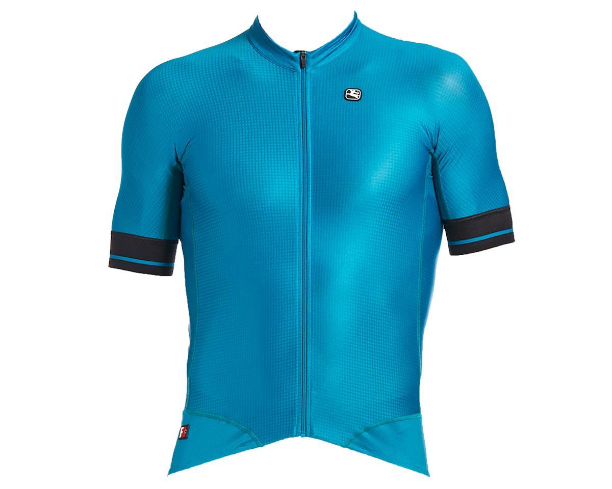 Giordana FR-C Pro Short Sleeve Jersey (Deep Ocean/Black accents) (L)