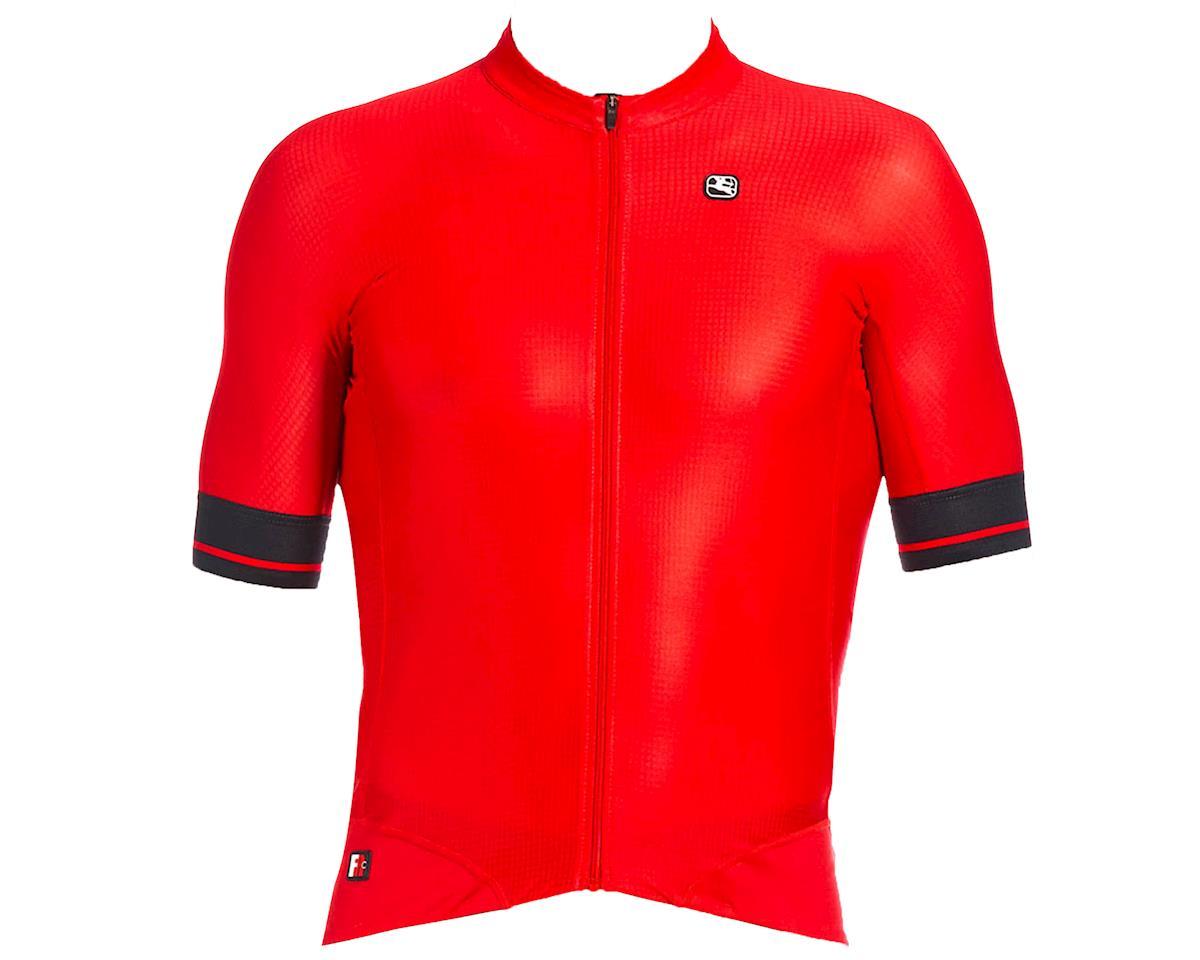 Giordana FR-C Pro Short Sleeve Jersey (Cherry Red/Black) (XL)