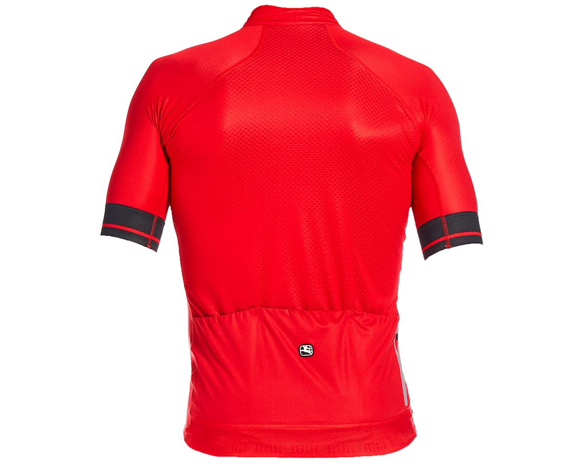 Image 2 for Giordana FR-C Pro Short Sleeve Jersey (Cherry Red/Black) (XL)