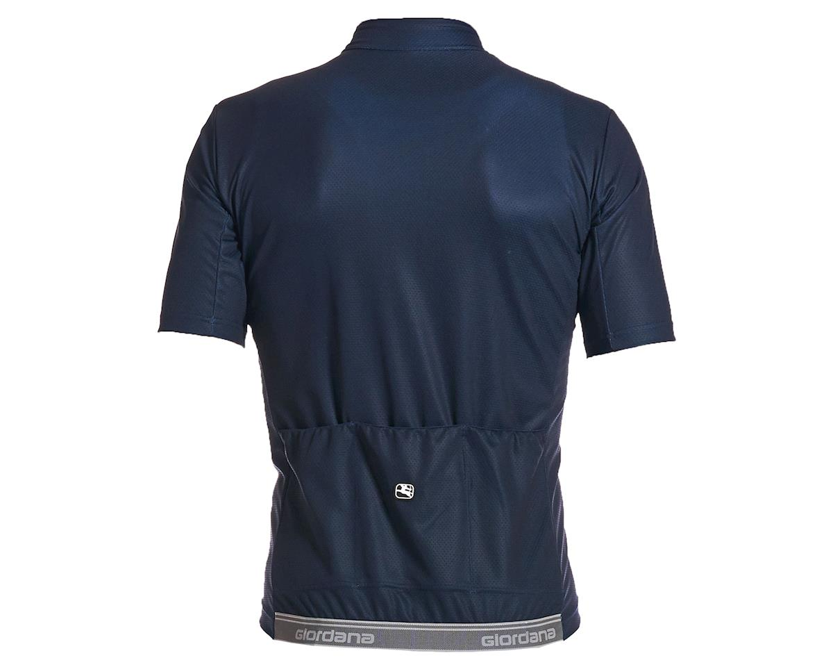 Giordana Fusion Short Sleeve Jersey (Midnight Blue) (L)