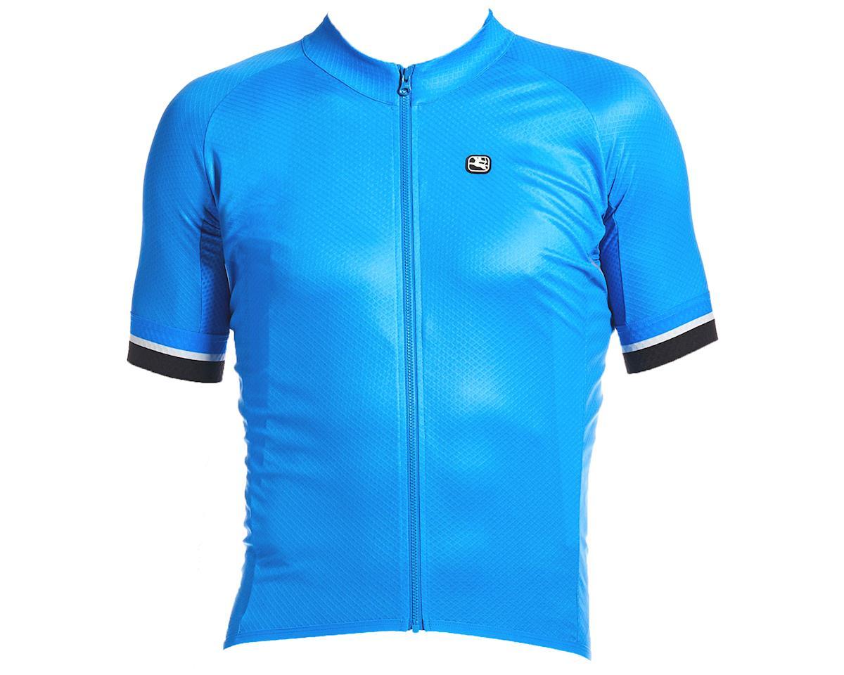 Giordana SilverLine Short Sleeve Jersey (Bright Blue) (XL)