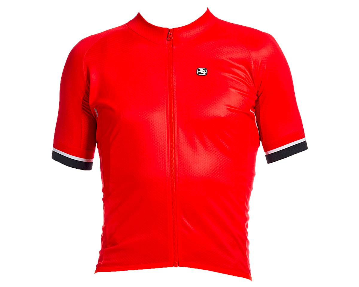 Giordana SilverLine Short Sleeve Jersey (Red) (XL)