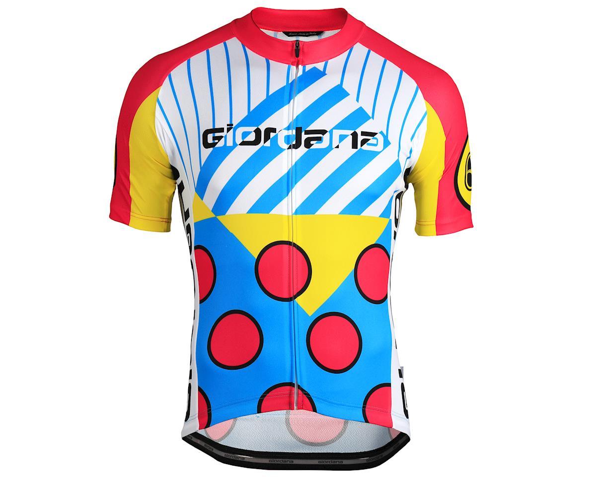 Giordana Motivo Jersey (Magenta/Yellow/Blue/White)