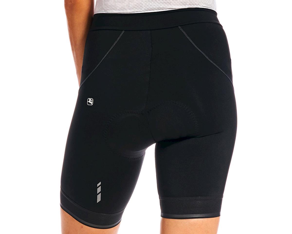 Giordana Women's Fusion Short (Black/White) (L)