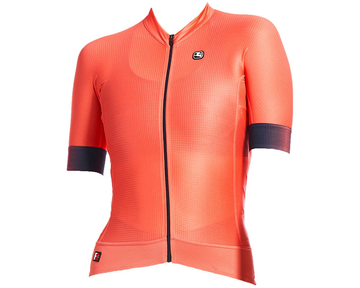 Giordana Women's FR-C Pro Short Sleeve Jersey (Coral) (M)