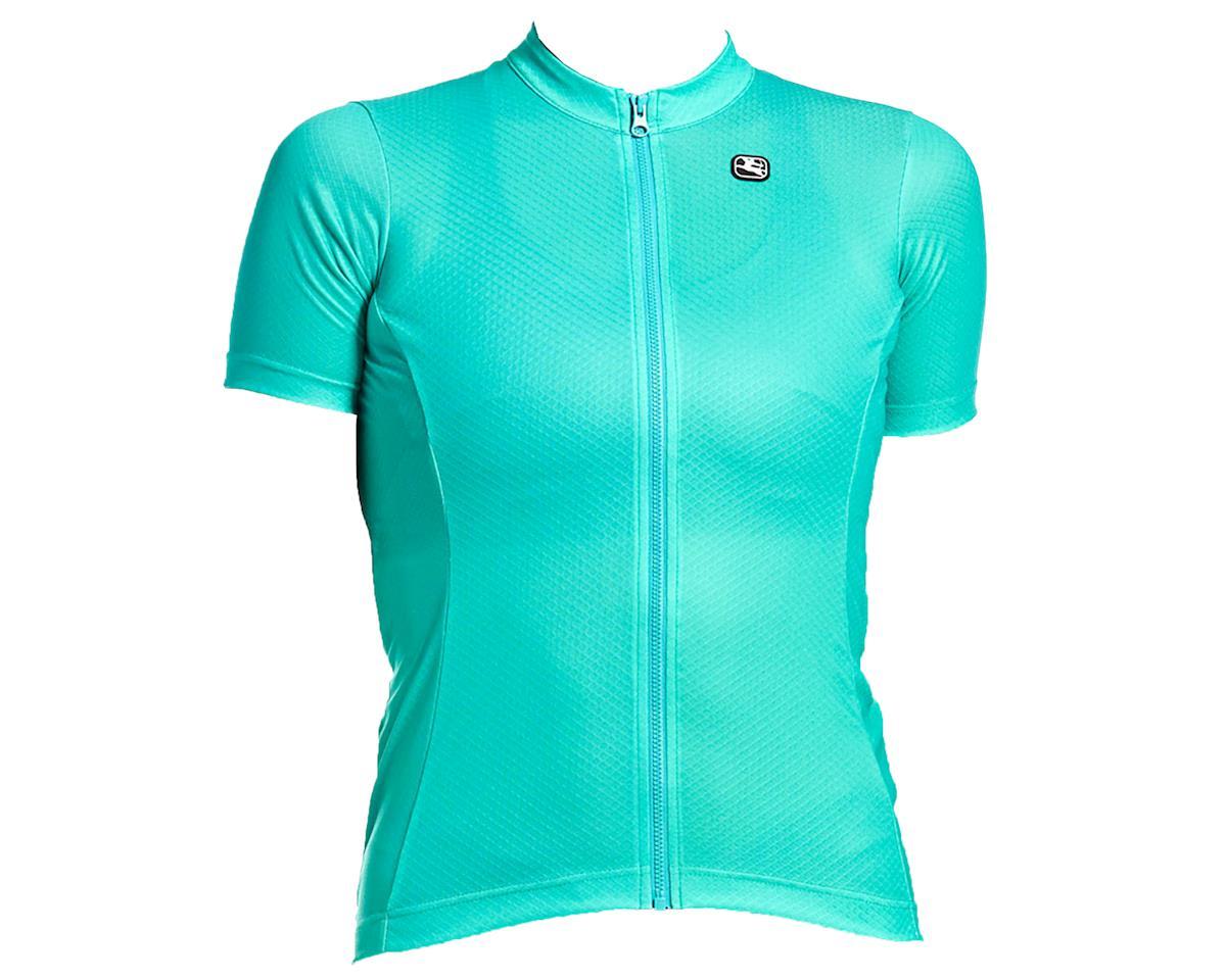 Giordana Women's Fusion Short Sleeve Jersey (Arcadia Green) (L)