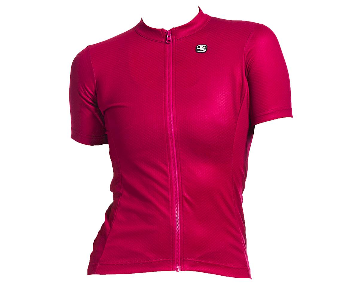 Giordana Women's Fusion Short Sleeve Jersey (Grape) (L)