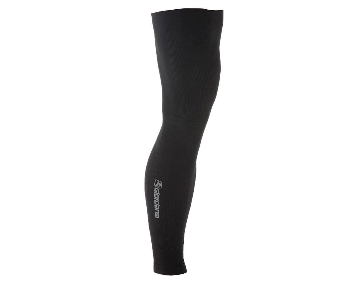 Giordana FR-C Knitted Dryarn Leg Warmers (Black) (M/L)