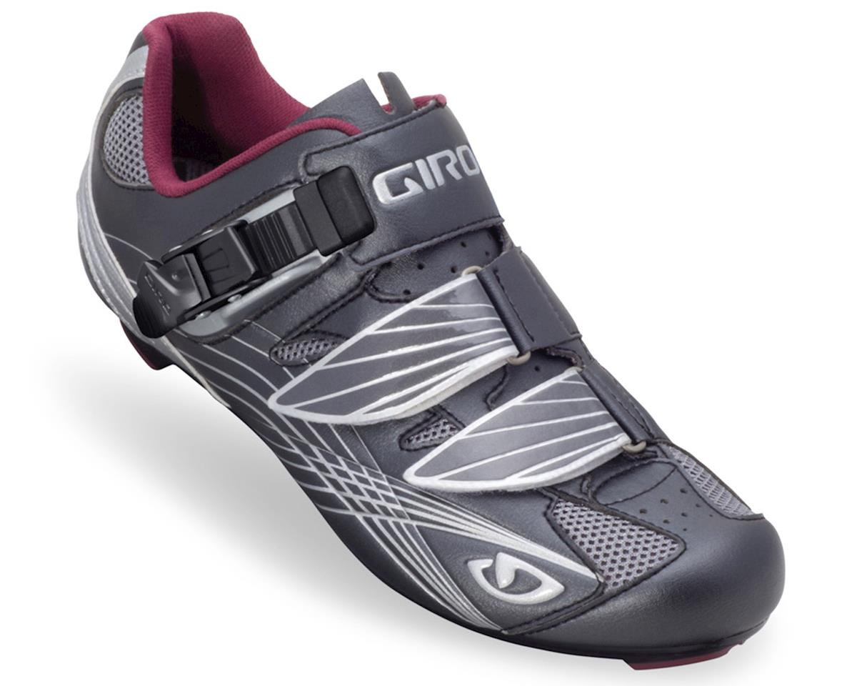 Giro Solara Women's Road Shoes (Gunmetal/Berry)
