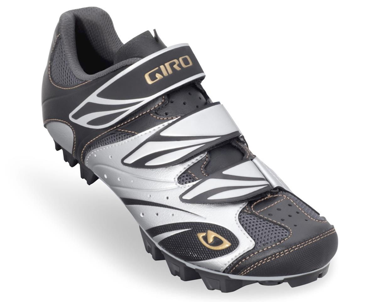 Giro Riela Women's MTB Shoe (Black/Silver/Gold)