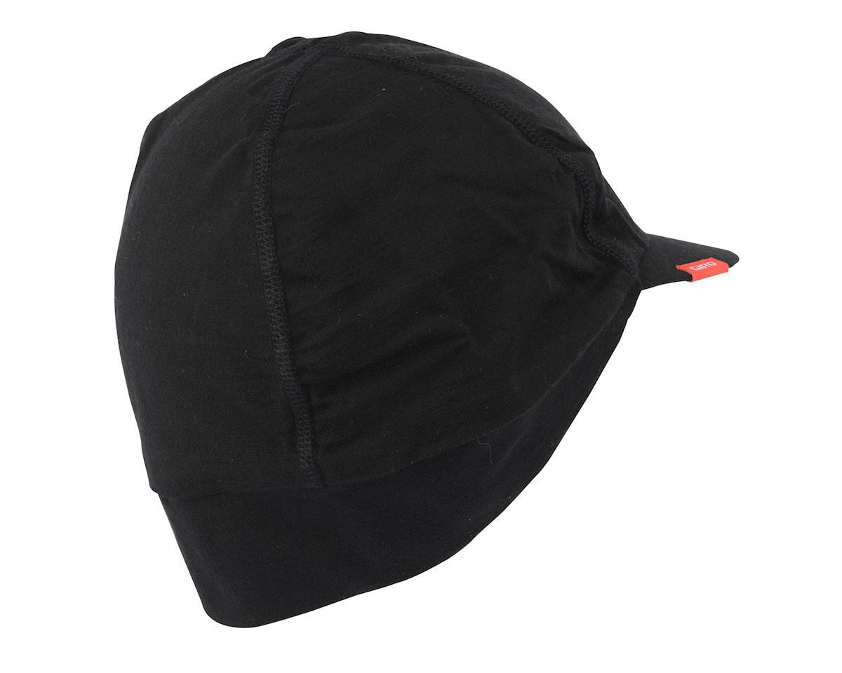 Image 1 for Giro Seasonal Wool Cycling Cap (Black) (Large/X-Large(57-63Cm))