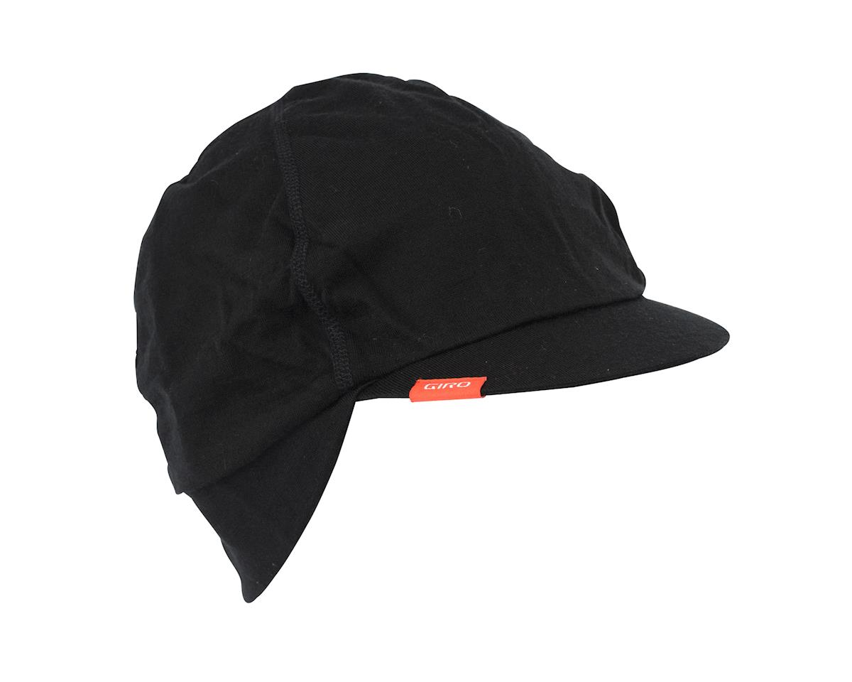 Image 2 for Giro Seasonal Wool Cycling Cap (Black) (Large/X-Large(57-63Cm))