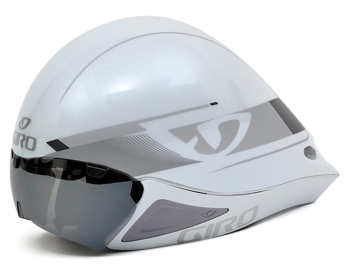 Giro Selector Aero Helmet (White/Silver) (S/M)