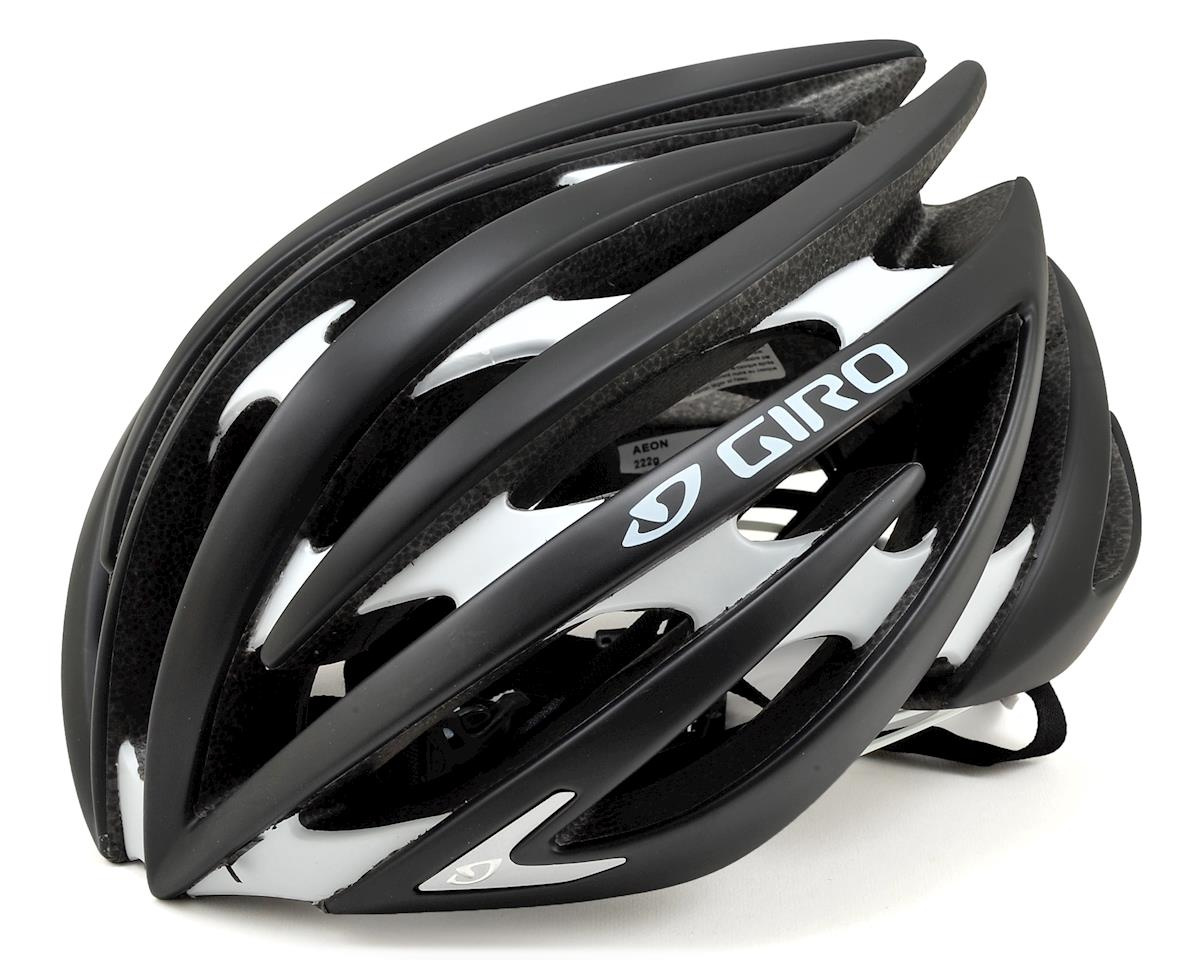 Aeon Road Helmet (Matte Black/White)