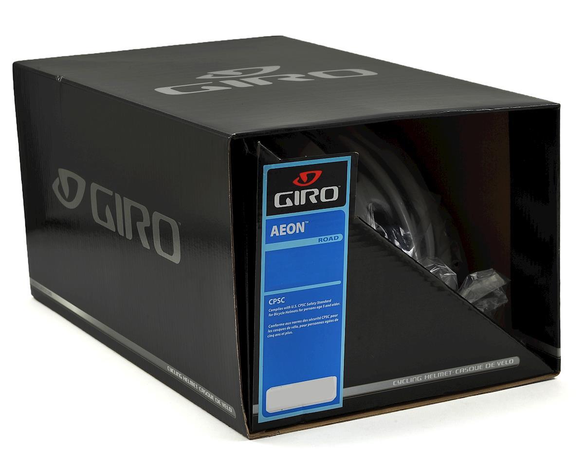 Giro Aeon Road Helmet (Matte Black/White) (L)