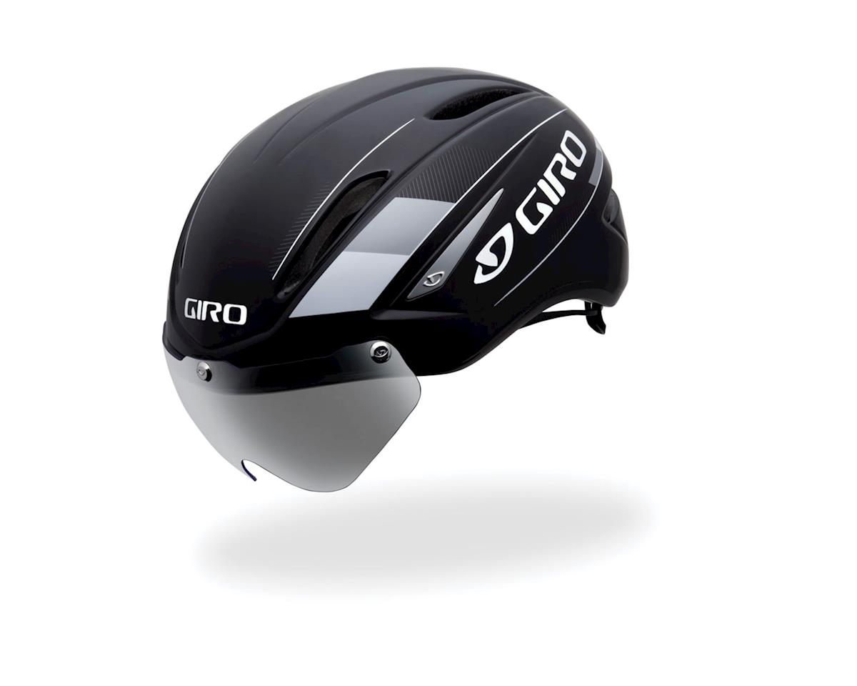 "Giro Air Attack Shield Aero Helmet - Closeout (Black/Silver) (Small 20-21.75"")"