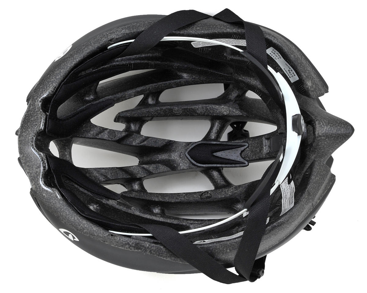 Giro Atmos Road Helmet - 2014 Closeout (Matte Black/White)