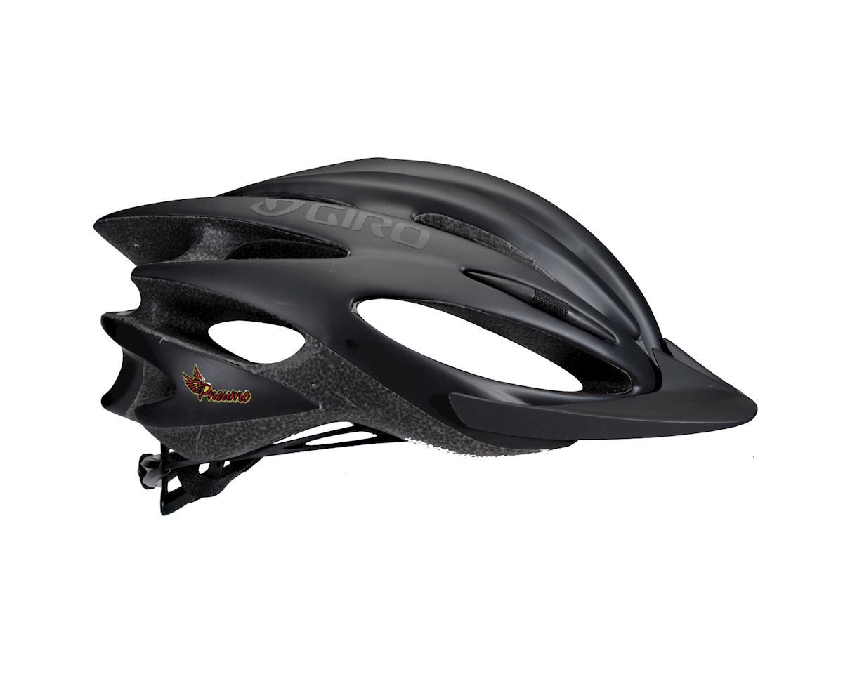 "Image 2 for Giro Pneumo Road Helmet - Closeout (Matte Black) (Small 20-21.75"")"