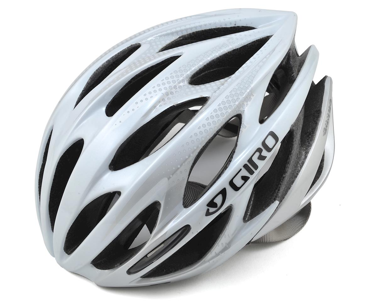 SCRATCH & DENT:  Saros Road Cycling Helmet (White/Silver) (S)
