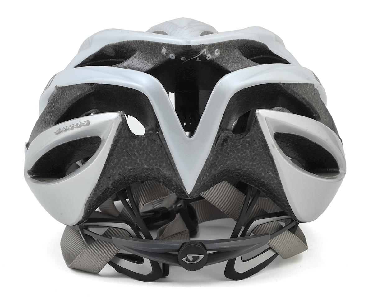 SCRATCH & DENT: Giro Saros Road Cycling Helmet (White/Silver) (S)
