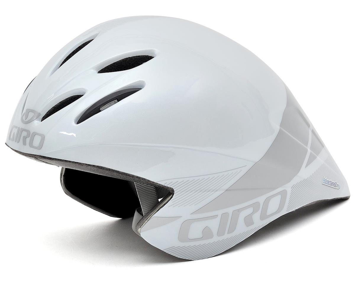 Giro Advantage 2 Aero Helmet (White/Silver) (M)