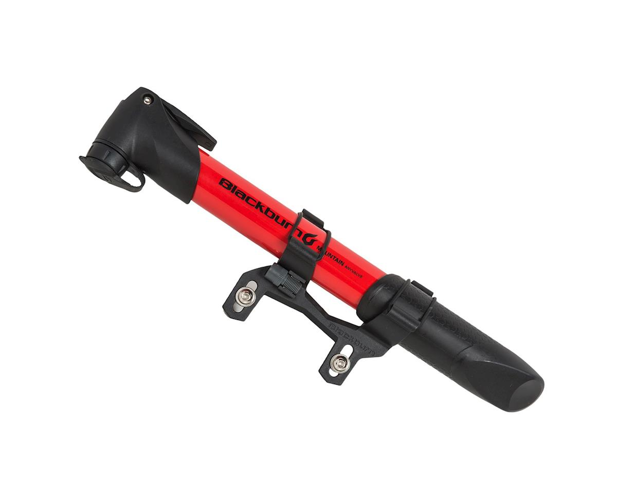 Image 1 for Giro Blackburn Mammoth AnyValve Mini-Pump - Red