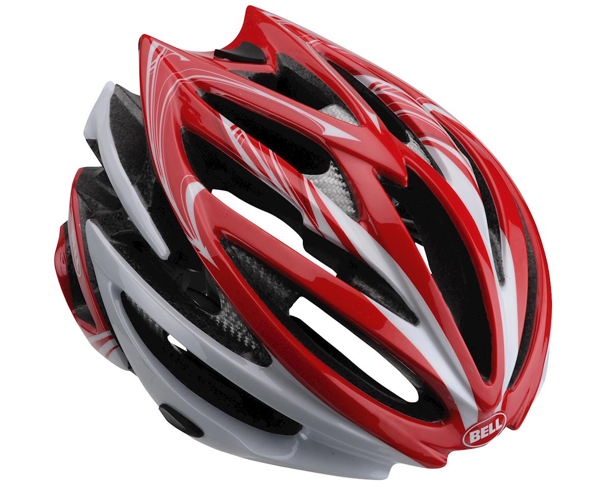Image 1 for Giro Bell Volt Road Helmet - Closeout (Red White Script) (Small)